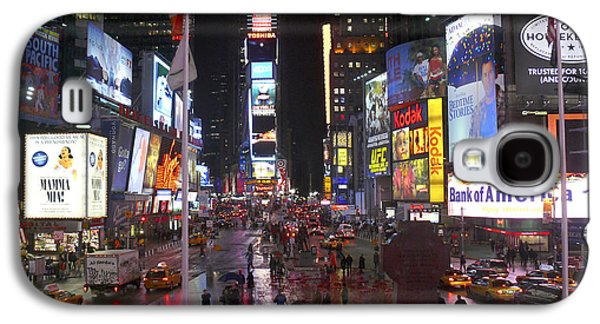 Times Square Galaxy S4 Case by Mike McGlothlen