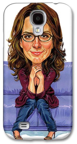 Tina Fey Galaxy S4 Case by Art
