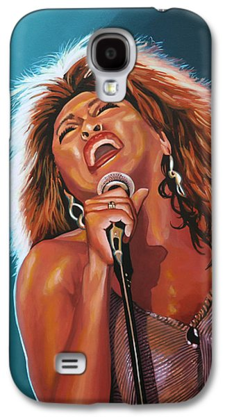 Tina Turner 3 Galaxy S4 Case