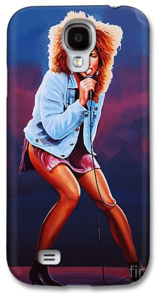 Tina Turner Galaxy S4 Case by Paul Meijering