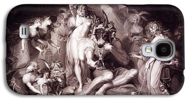 Titania, Bottom And The Fairies, Act 4 Galaxy S4 Case by Henry Fuseli