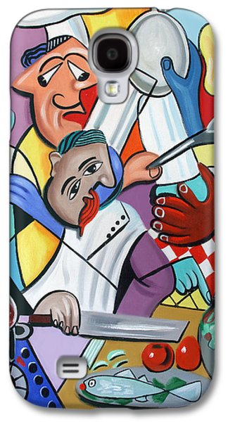 To Many Cooks In The Kitchen Galaxy S4 Case by Anthony Falbo