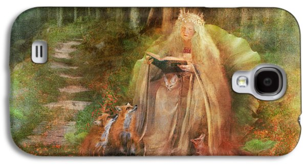 To Spin A Tale Galaxy S4 Case by Aimee Stewart