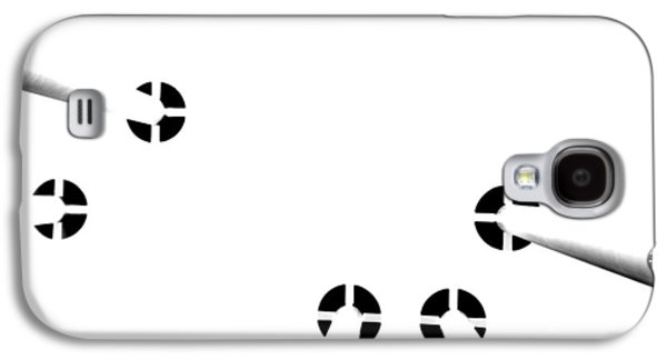 Toit Blanc Sur Des Colonnes Galaxy S4 Case