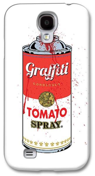 Travel Galaxy S4 Case - Tomato Spray Can by Gary Grayson