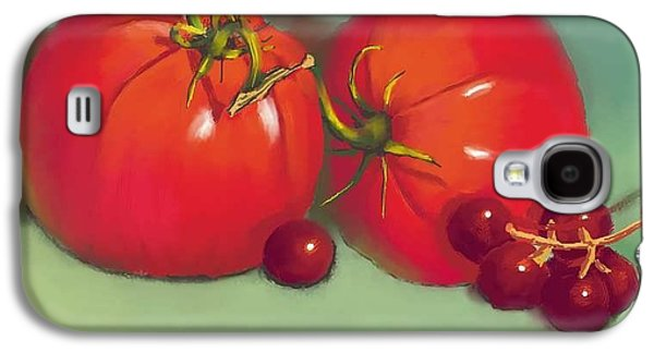 Tomatoes And Concord Grapes Galaxy S4 Case by Dessie Durham