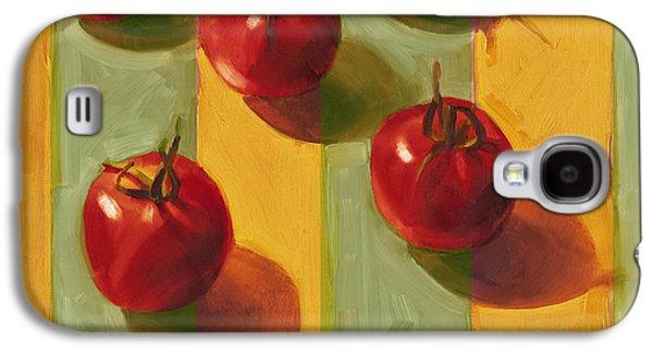 Tomatoes Galaxy S4 Case by Cathy Locke