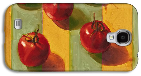 Tomatoes Galaxy S4 Case by Cathy Locke