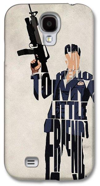 Tony Montana - Al Pacino Galaxy S4 Case by Ayse Deniz