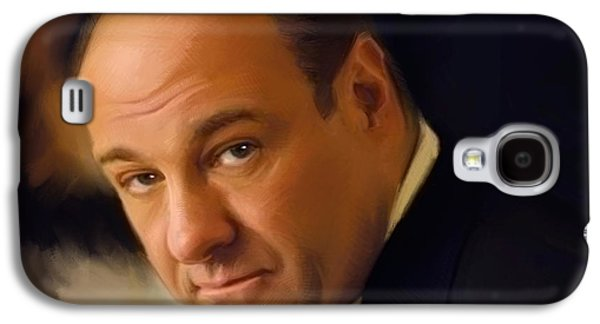 Tony Soprano Galaxy S4 Case by Paul Tagliamonte