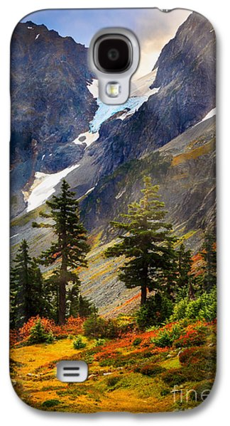 Top Of Cascade Pass Galaxy S4 Case by Inge Johnsson