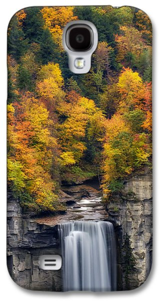 Top Of The Falls Galaxy S4 Case by Mark Papke
