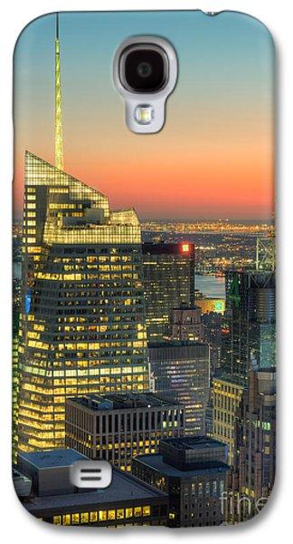 Top Of The Rock Twilight II Galaxy S4 Case