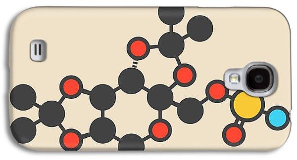 Topiramate Epilepsy Drug Molecule Galaxy S4 Case by Molekuul