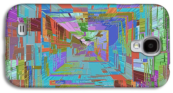 Topographic Albatross Galaxy S4 Case by Tim Allen