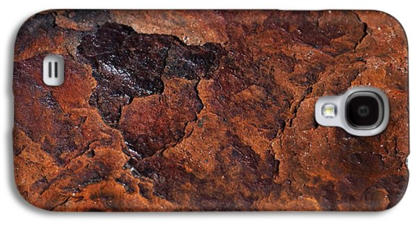 Topography Of Rust Galaxy S4 Case