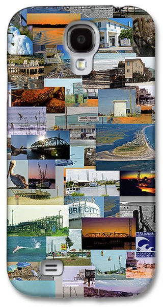Topsail Island Nc Collage  Galaxy S4 Case by Betsy Knapp