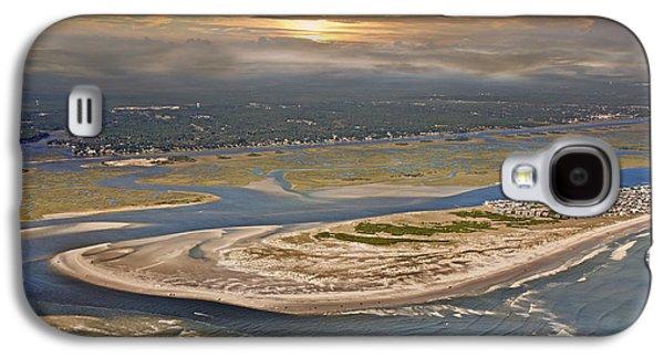 Topsail Island Paradise Galaxy S4 Case by Betsy Knapp
