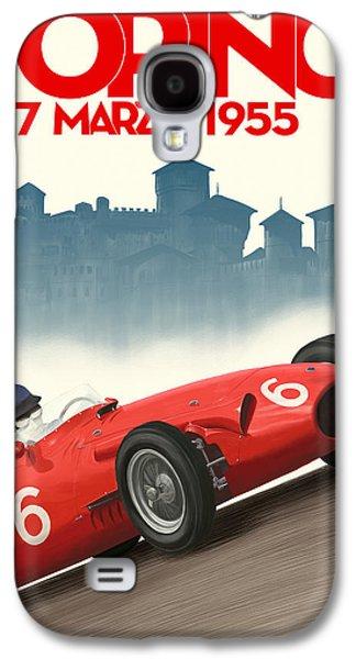Torino Grand Prix 1955 Galaxy S4 Case by Georgia Fowler