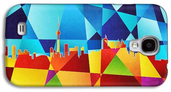 Toronto Canada Skyline Galaxy S4 Case