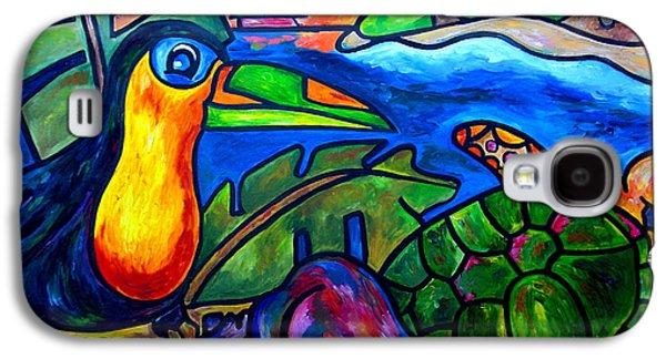 Toucan Galaxy S4 Case - Tortuga Eco Tour by Patti Schermerhorn