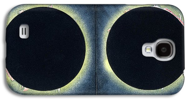 Total Solar Eclipse Galaxy S4 Case by Collection Abecasis