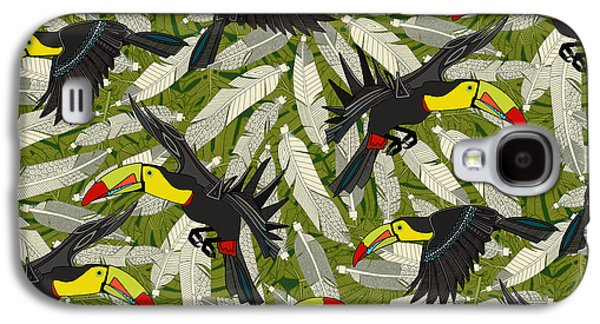 Toucan Jungle Galaxy S4 Case
