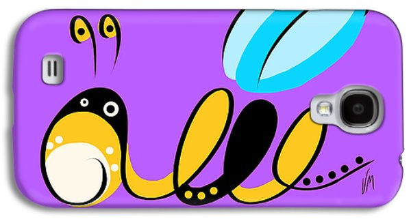 Thoughts And Colors Series Bee Galaxy S4 Case by Veronica Minozzi