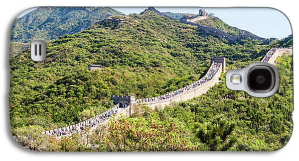 Tourists Walking On A Wall, Great Wall Galaxy S4 Case