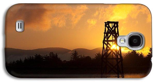 Tower At Dawn Galaxy S4 Case by Erin Kohlenberg