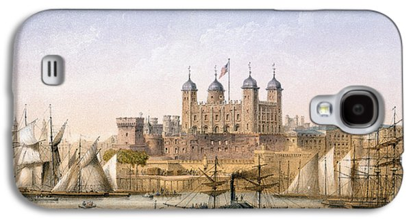 Tower Of London, 1862 Galaxy S4 Case by Achille-Louis Martinet