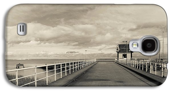 Town Pier On The Gironde River Galaxy S4 Case by Panoramic Images