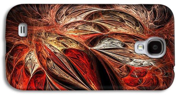 Traces Of Flame Galaxy S4 Case by Anastasiya Malakhova