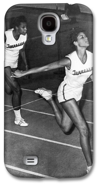 Track Star Wilma Rudolph Galaxy S4 Case