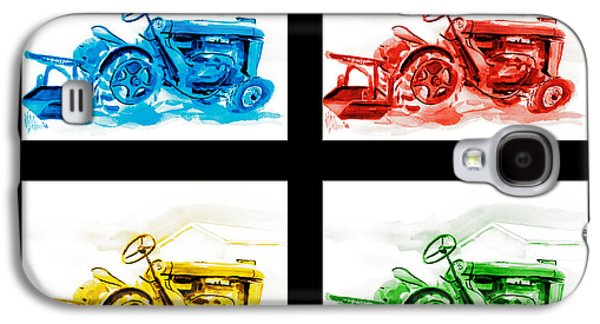 Tractor Mania Iv Galaxy S4 Case by Kip DeVore