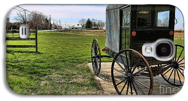 Traditional Amish Buggy Galaxy S4 Case by Lee Dos Santos