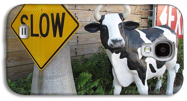 Traffic Cow Galaxy S4 Case