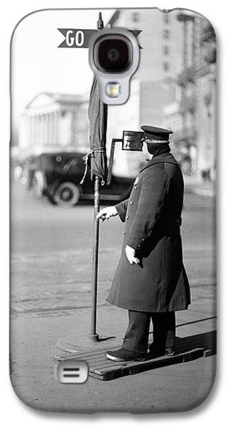 Traffic Officer Galaxy S4 Case