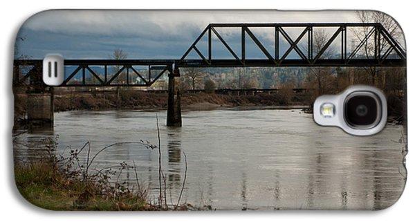 Train Bridge Galaxy S4 Case by Erin Kohlenberg