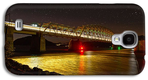 Train Lights In The Night Galaxy S4 Case
