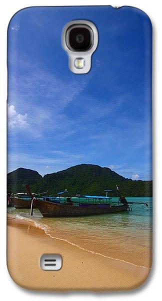 Tranquil Beach Galaxy S4 Case