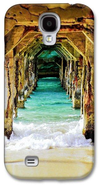 Beach Galaxy S4 Case - Tranquility Below by Karen Wiles