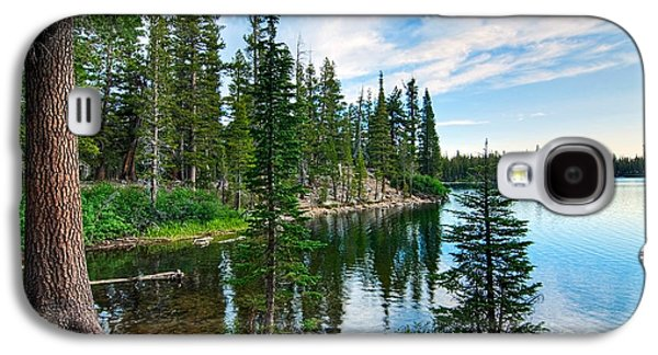Tranquility - Twin Lakes In Mammoth Lakes California Galaxy S4 Case by Jamie Pham