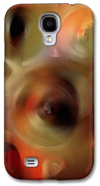 Transcendent - Abstract Art By Sharon Cummings  Galaxy S4 Case by Sharon Cummings
