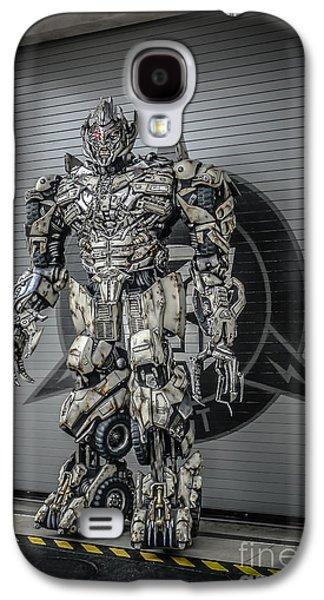 Transformer At Nest Galaxy S4 Case by Edward Fielding