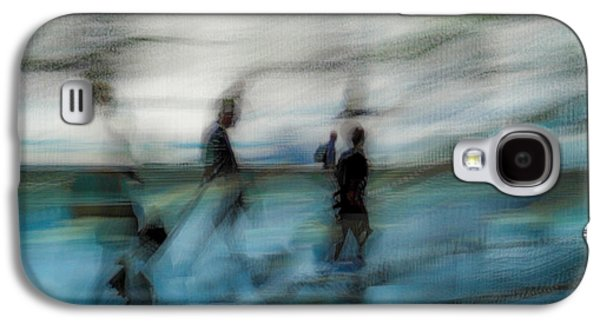 Galaxy S4 Case featuring the photograph Travel Blues by Alex Lapidus