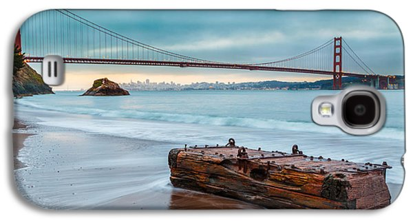 Treasure And The Golden Gate Bridge Galaxy S4 Case by Sarit Sotangkur