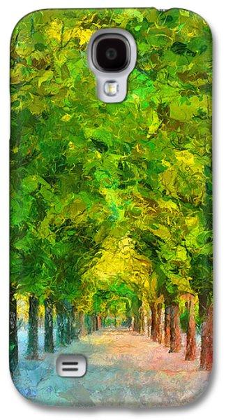 Tree Avenue In The Vienna Augarten Galaxy S4 Case