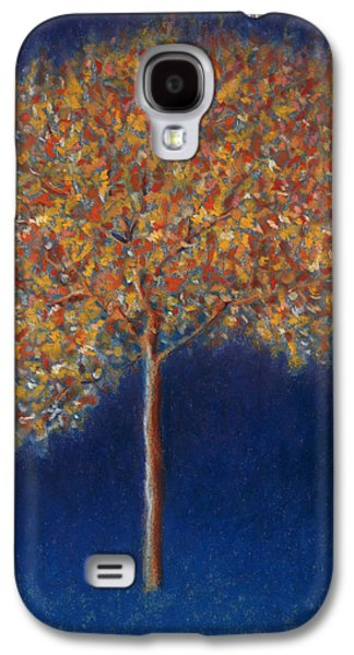 Tree In Blossom Galaxy S4 Case by Peter Davidson