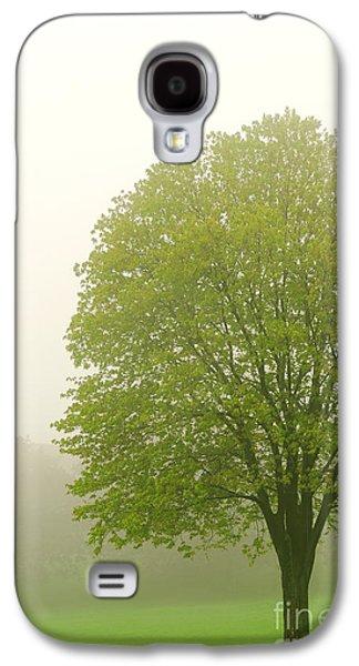 Tree In Fog Galaxy S4 Case by Elena Elisseeva